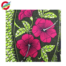 100% polyester african wax prints designs woven fabric for sale