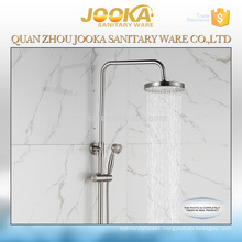 sanitary ware professional round design brushed finished bathroom shower set
