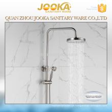 projeto redondo profissional dos mercadorias sanitários escovado terminou o jogo do chuveiro do banheiro