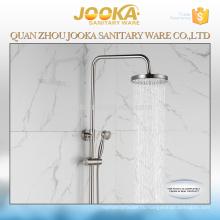 сантехника профессиональный дизайн круглый шлифованный готовые ванная комната душ комплект
