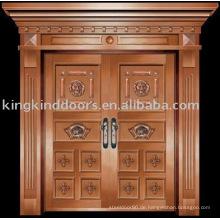 Luxus Kupfer Tür Villa Tür Außentür Doppeltür KK-718