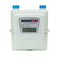 Household Aluminum Case IC Card Prepaid Intelligent Gas Meter