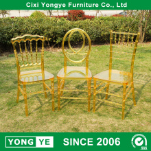 Εργοστάσιο άμεση σαφές χρυσό ρητίνη Φοίνιξ καρέκλα