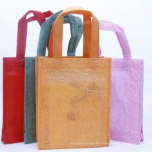 China Wholesale Non Woven Shopping Bag Custom Cheap Promotional Folding Reusable Small Tote Non-Woven Bag