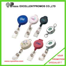Самый популярный логотип печатных рекламных держатель значка (EP-BH112-118)