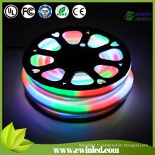 La corde diffuse blanche de néon de LED de lait pour le signe au néon / au néon décore