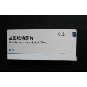 High Quality 0.2g Amiodarone Hydrochloride Tablets
