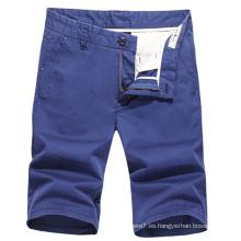 2017 Summer Men Chino Shorts Shorts casuales de algodón