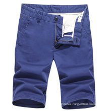 2017 Summer Men Chino Shorts Cotton Casual Shorts