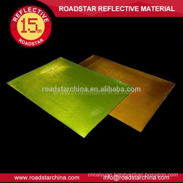 Acrylic PVC reflective sheeting visible in night