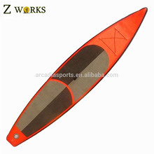 Racing billiger Paddle Board Sup Bord aufblasbare Surfbrett