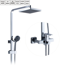 Bathroom rainfall sliding shower set shower mixer set