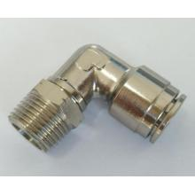 Air-Fluid Brass Swivel Elbow P.T.C Fittings