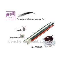 cosmetic pencil eyebrow pencil Permanent Cosmetic manual Tattoo makeup Pen For Eyeline/Eyebrow/Lip