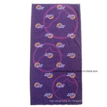 Personalizado sobre el logotipo de poliéster impreso promocional bufanda bufanda mágica baratos