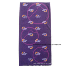 Customized Full Over Logo Printed Polyester Promotional Cheap Magic Buff Scarf