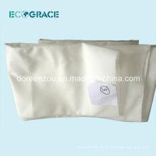 Bolsa de filtro de líquido de manga de tela de poliéster