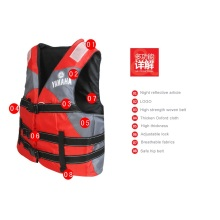 Colorful YAMAHA Brand Life Vest Lifevest