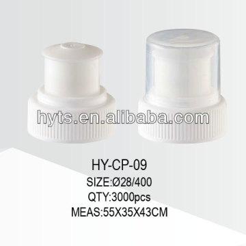 28/400,28/415 plastic water bottle cap push pull