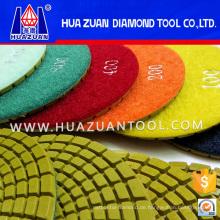 4-Zoll-Diamant-Kanten-Polierwerkzeuge