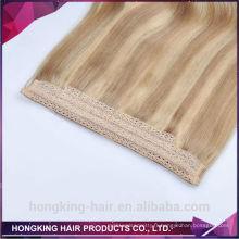 18 '' vente en gros non transformés cru vierge cheveux uzbek gros cheveux humains tissage 100% naturel tissage de cheveux humains