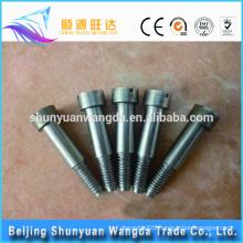 Pure molybdenum screw