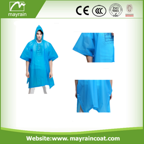 Pe Rain Disposable Rain Poncho