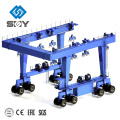 Movable yacht crane for lifting boat, Hauling the yacht machine Morequestions,pleasesendmessagetome!