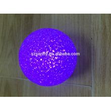 Рождественские украшения LED цвет изменение мяч