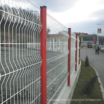 Valla de malla de alambre de seguridad vial