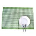 Teatowel do waffle do algodão do jacquard do waffle de 250gsm 50x70cm