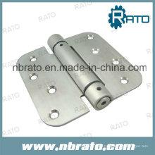 Dobradiça de mola de fechamento automático de aço inoxidável