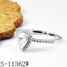 Modeschmuck 925 Sterling Silber Ehering