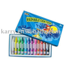 conjunto de lápis de banho