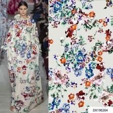 Wholesale Digital Print Moss Crepe Polyester Fabrics