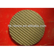 Copper Wire Mesh Filter Discs manufacture