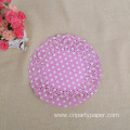 Disposable Paper Vintage Round Lace Doilies