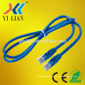CAT 6 30cm 3m Networking Cable textile cable HDPE Insulation patch cord for laptop computer low voltage cable
