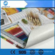 Impreso Gllosy 10OZ 200 * 300d 18 * 12 13 oz. banner para el mercado