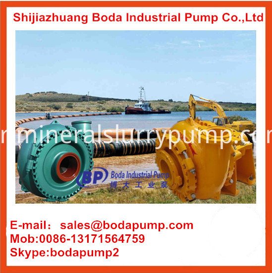 gravel slurry pump application