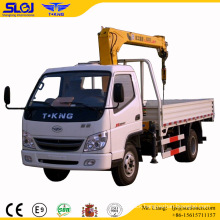 Slgj Tking 2t Cargo Truck Mounted 2t Telescopic Crane