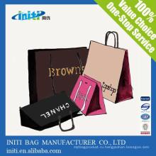 2015 новый горячий способ качества настроил сумочку формы бумаги подарочный пакет