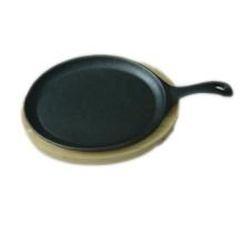 Fajita de hierro fundido Sizzling Plate