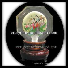 красивый кристалл K9 мяч K046