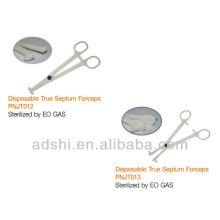2015 hotsale ADShi EO Gas sterilisierte Körper piercing Einweg-echte Septum Pinzette Piercing-Tools