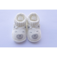 Niedliches Baby Bootee mit dem Tierdesign populär in China