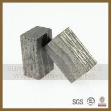 Segmento de diamante para Granite Natural Stone Indian Red India Market