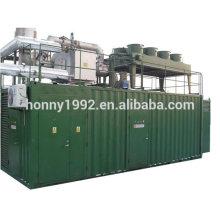 1000 кВт Контейнер с низким уровнем шума CHP Газовая электростанция