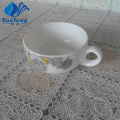 Opal Glass Pressing 350cc Mug