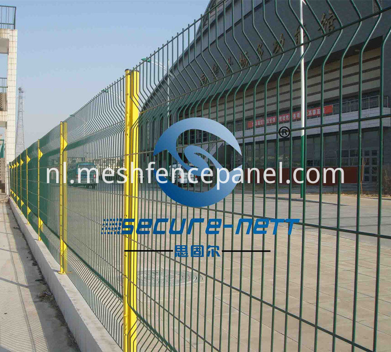 building wire mesh fence
